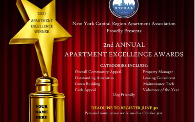 Deadline July 30,2021: 2021 Apartment Excellence Awards