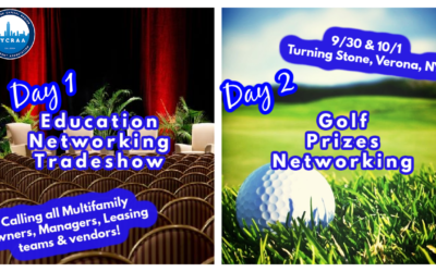 September 30 – October 1: NYCRAA Fall Education Conference and Networking Golf Event