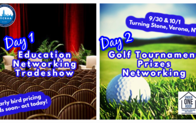 September 30 – October 1: NYCRAA/UOR Fall Education Conference and Networking Golf Event